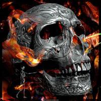 Ancient Skull by Fotomonta