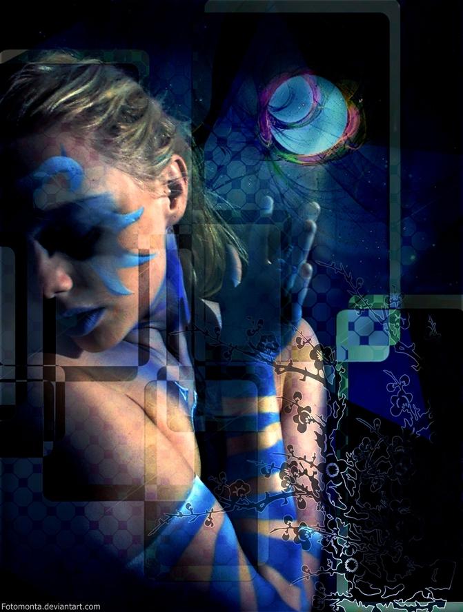 Blue Moon Blues by Fotomonta