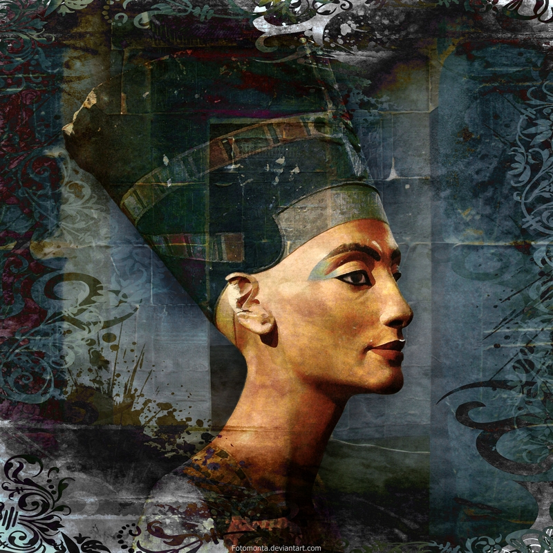 Nefertiti by Fotomonta