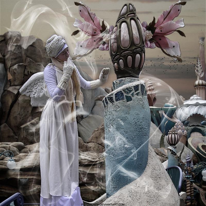 Angel In Wonderland by Fotomonta