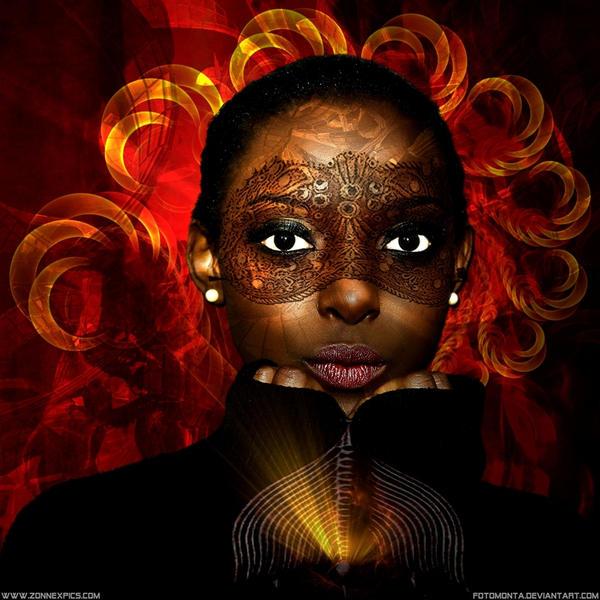 Dark Flower II by Fotomonta