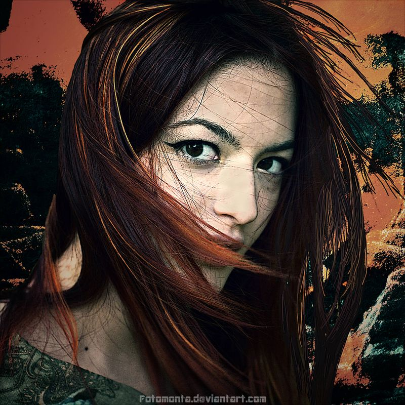 Redhead by Fotomonta