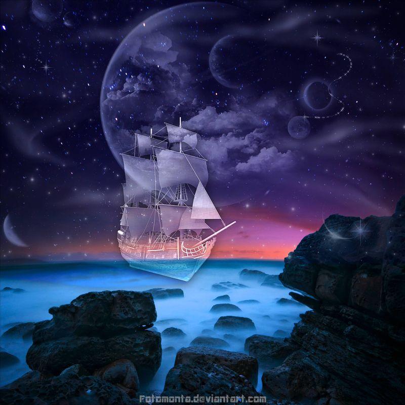 Ghost Ship by Fotomonta