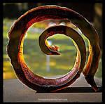 Glass Art Object