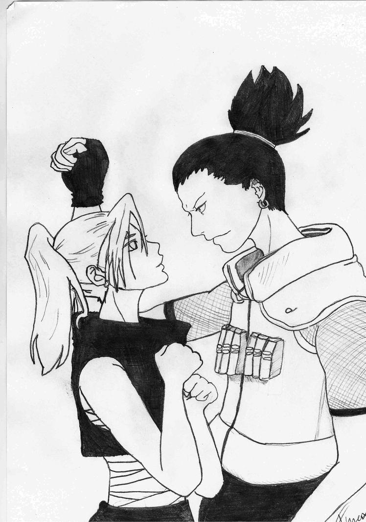 Ino i Shikamaru by Furex1