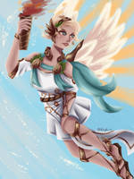 Winged Victory  by Nepluz