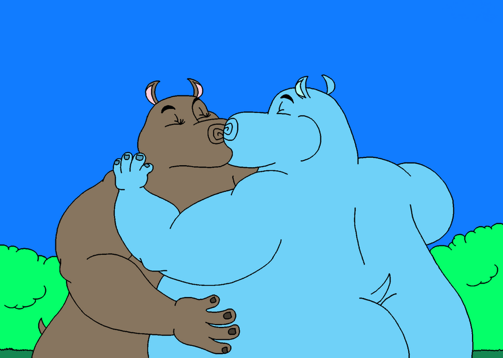 Hippo Love 2/4 by marillon954 on DeviantArt
