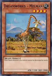 Melman the Giraffe by marillon954