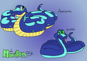 Marillon the Python and Marillon the Anaconda