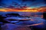 Sunset watercolours