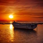 Floating sunset