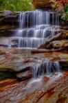 Watery cascades