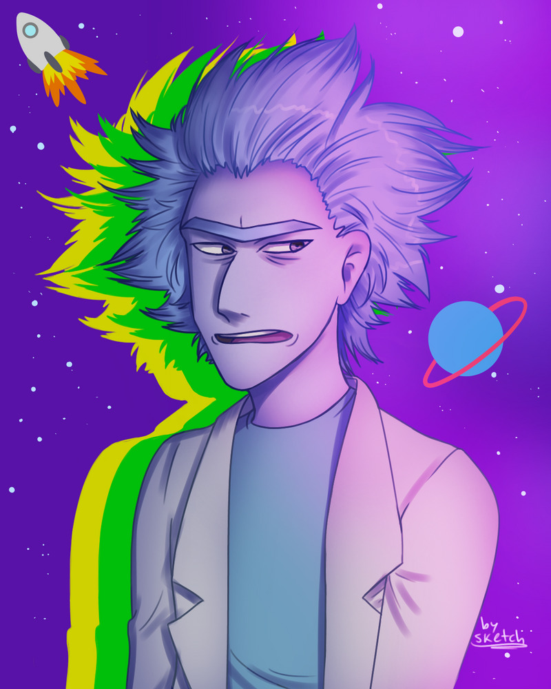 Rick and Morty  Rick Sanchez by nightlocksmoothie on ...