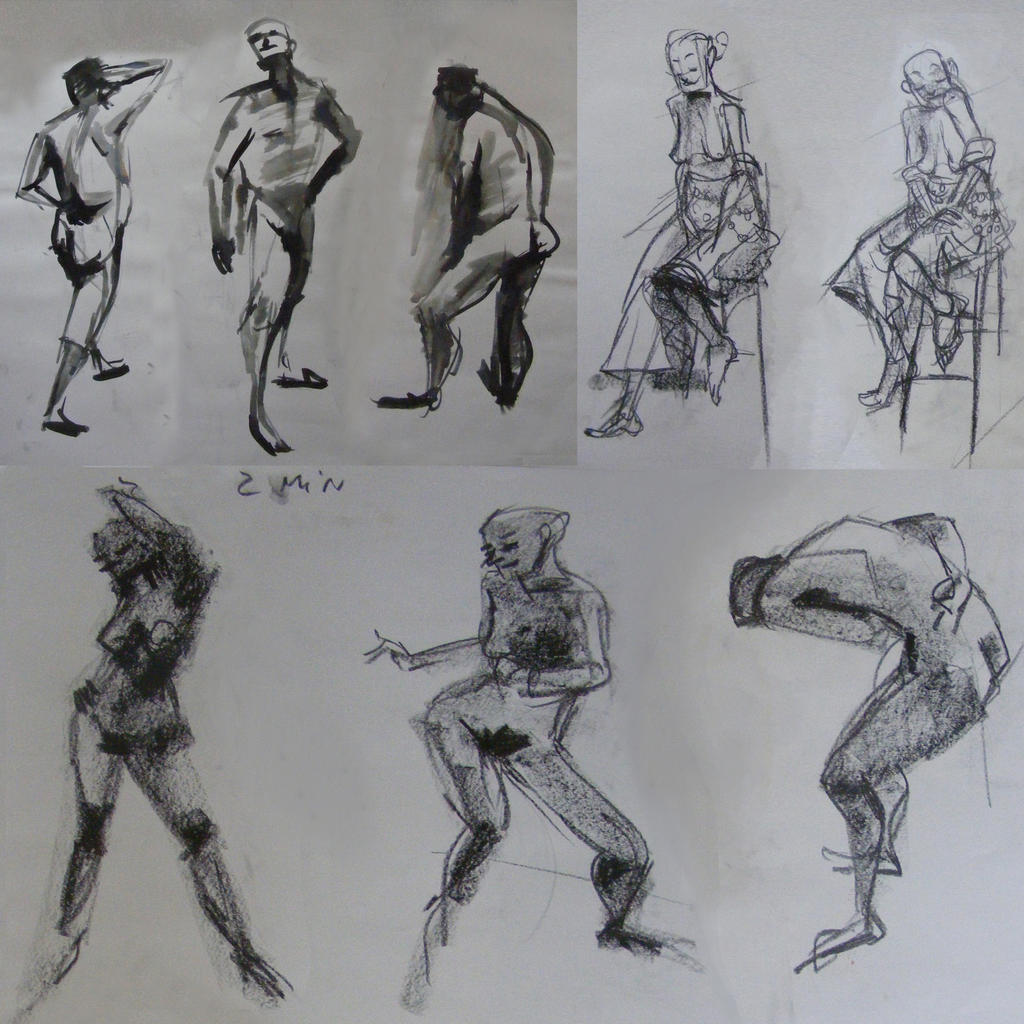 life drawing by monikoko