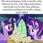 The Teacher by WatchPonyDA