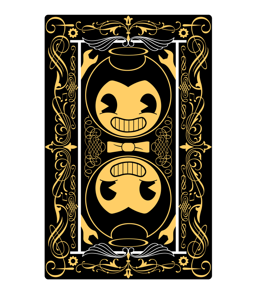 Bendy Playing Card Back by WatchPonyDA