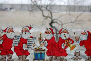 Santas... by Indianwhitespirit