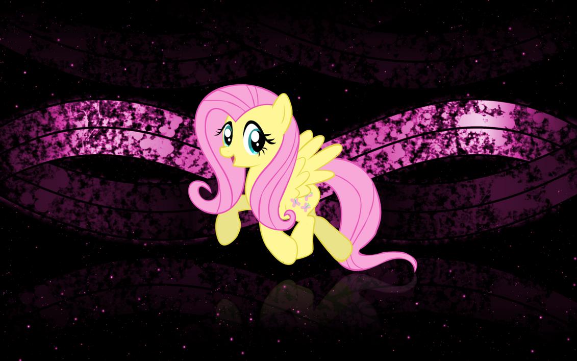 Fluttershy Wallpaper 2 by DemoMare