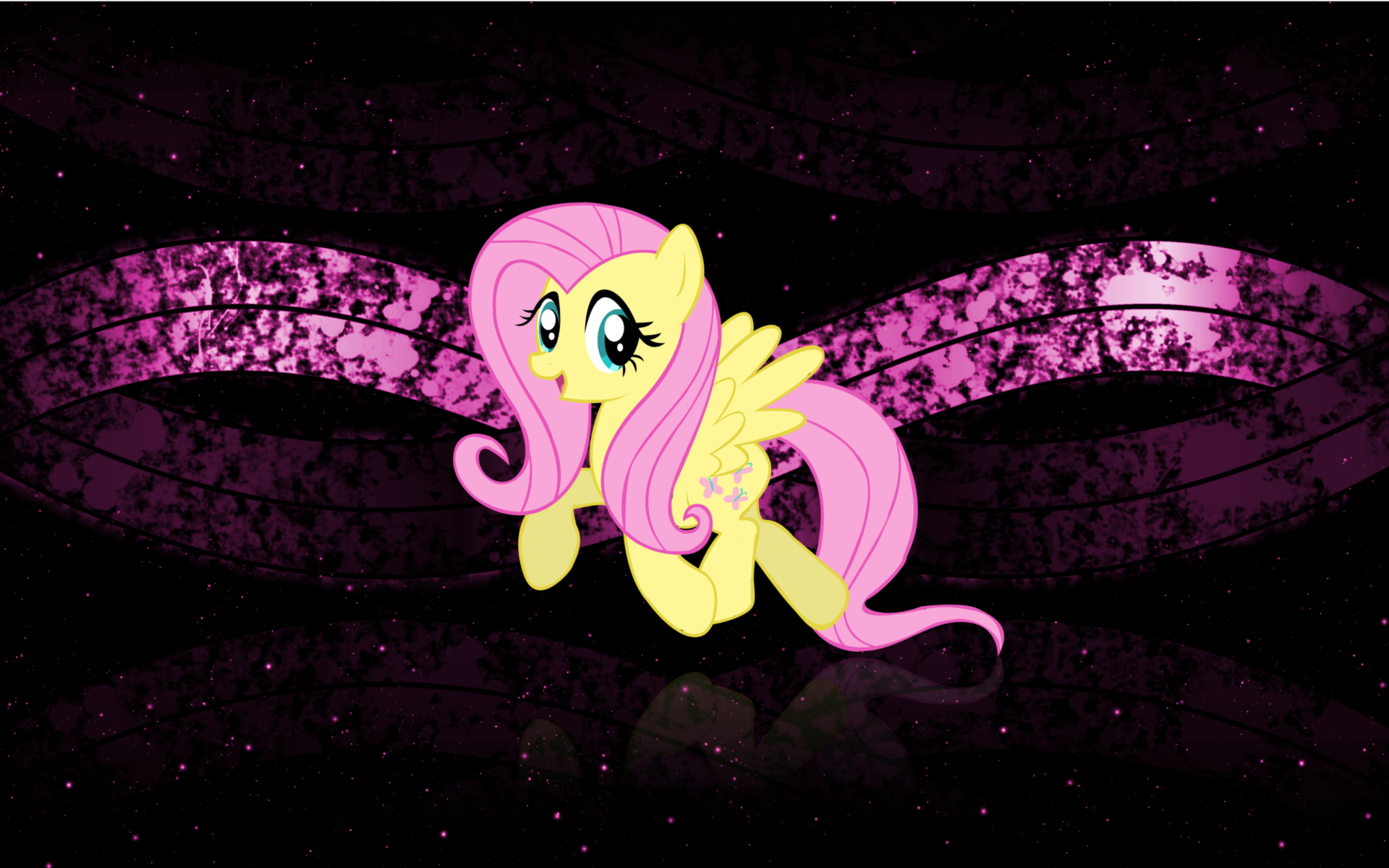 Fluttershy Wallpaper 2 by DemoMare
