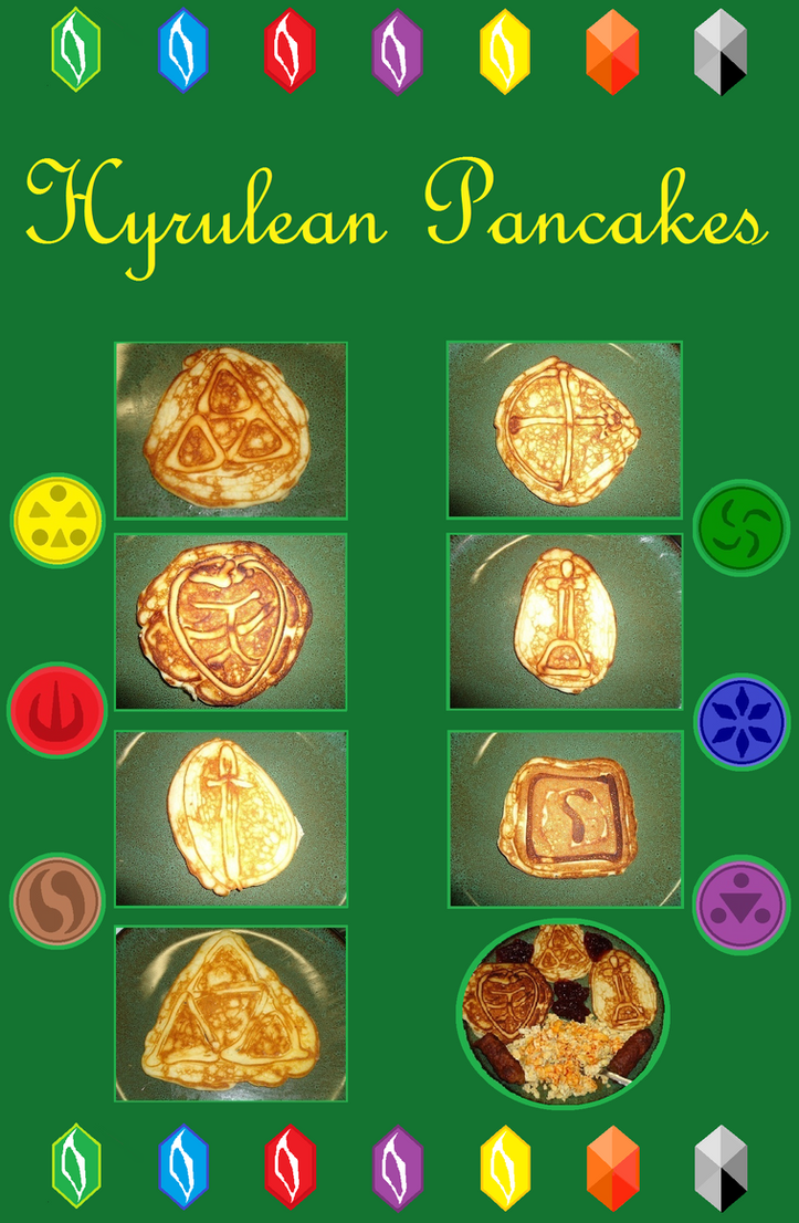 Hyrulean Pancakes (Homemade) by LinkNZeldaForever