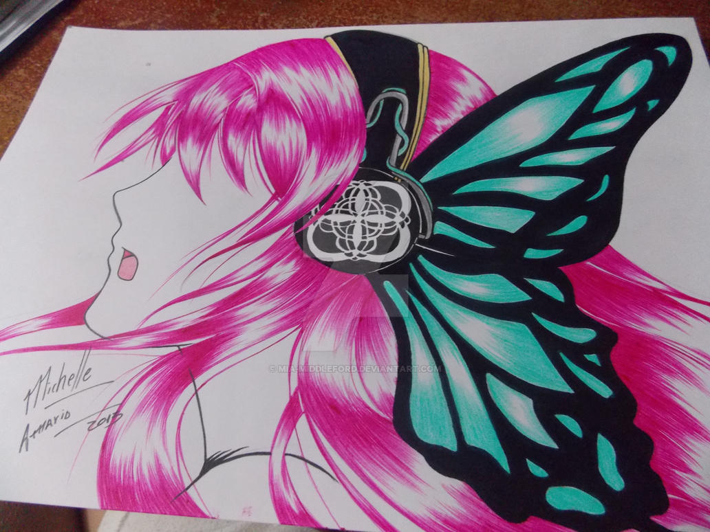 Megurine Luka- Magnet by Mia-Middleford