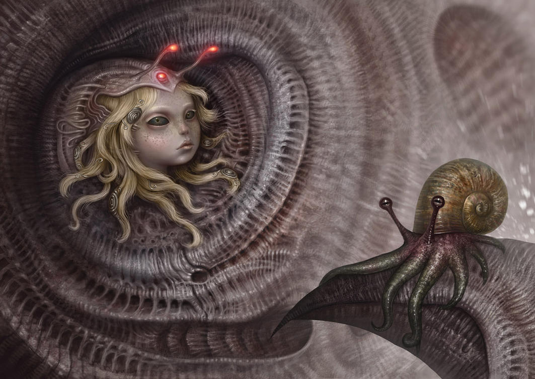 Spiral inhabitants by Sugarflesh
