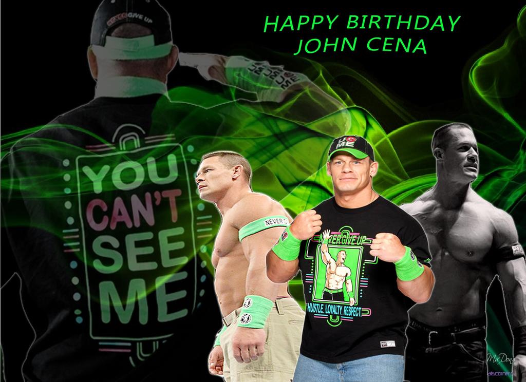 wwe John Cena Happy Birthday John by celtakerthebest on DeviantArt