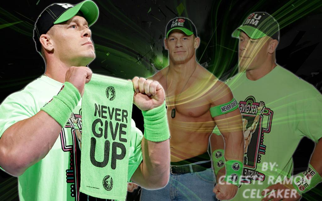 WWE JOHN CENA NEON PENDANT OFFICIAL NEW | eBay  |John Cena Logo Never Give Up 2014