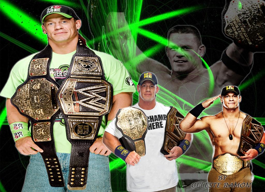 Wwe John Cena World Champ By Celtakerthebest