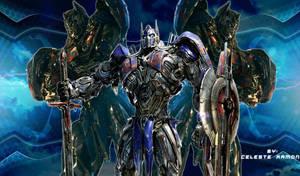 Optimus Prime: So Blue