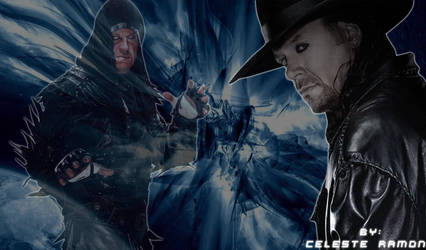 wwe Undertaker: Blue by celtakerthebest
