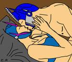 Optimus x Arcee: Love you... Arcee