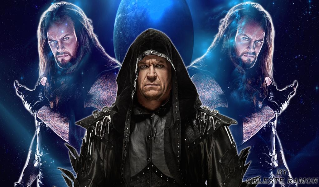 Wwe Undertaker Blue Space By Celtakerthebest