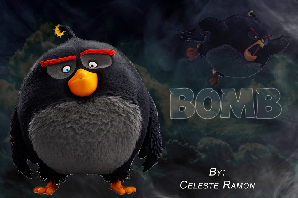 angry birds bomb by celtakerthebest on deviantart. Black Bedroom Furniture Sets. Home Design Ideas