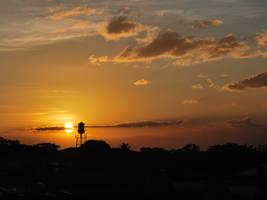 Sunset by fjarla