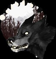 aware wolf by aliensphynx
