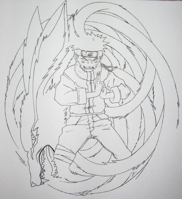 Naruto Nine-Tailed Demon By Styrecat On DeviantArt