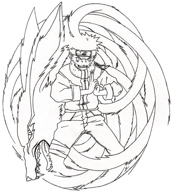 Re: Naruto Nine-Tailed Demon By Styrecat On DeviantArt