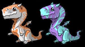 Kiocah Dragon Adopts by styrecat