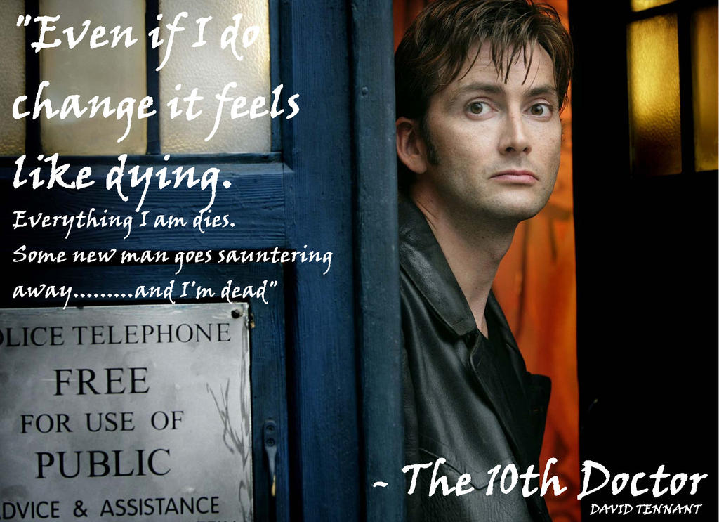 Doctor Who Wallpaper David Tennant Quote 30  Doctor Who Quotes David