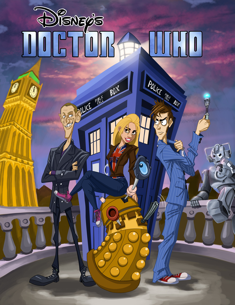 Disneys Doctor Who by McGillustrator