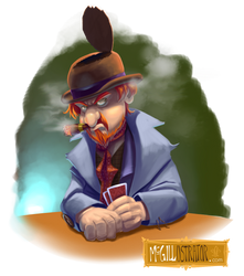 AMMN Thug 2 by McGillustrator