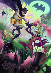 Batman Vs. Joker - Return of the Caped Crusaders! by McGillustrator