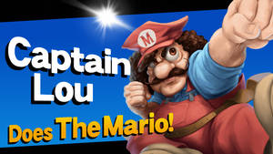 CHALLENGER APPROACHES - Captain Lou Albano!