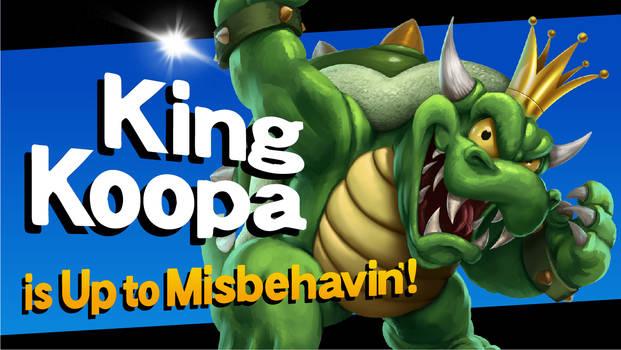 CHALLENGER APPROACHES - King Koopa!