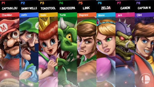 Super Smash Bros Ultimate - Dream Match
