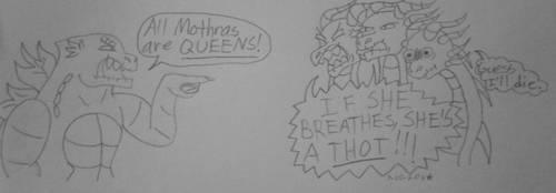Mothras Are Queens