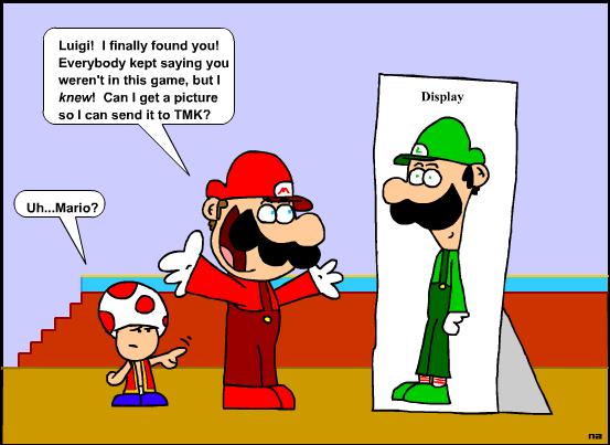 Luigi In Super Mario 64 By Nario On Deviantart