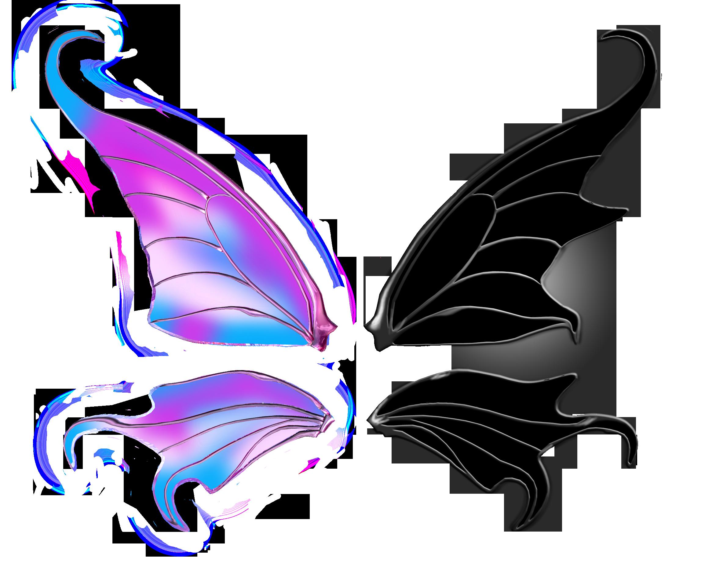Transparent wings by AliaChek on DeviantArt