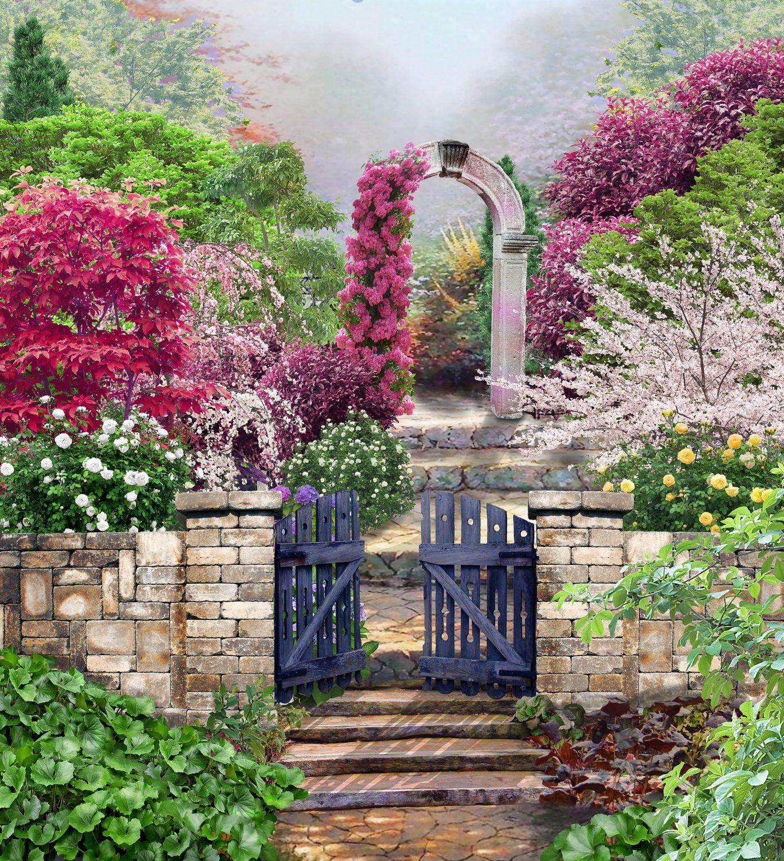 Garden Of Eden Landscape: Garden Of Eden By AliaChek On DeviantArt